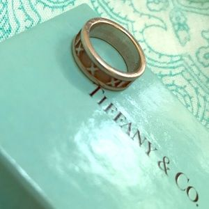 Tiffany & Co Atlas 925 Silver Ring